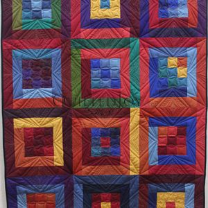 Rulers Rock! Machine quilting class taught by Angela Huffman