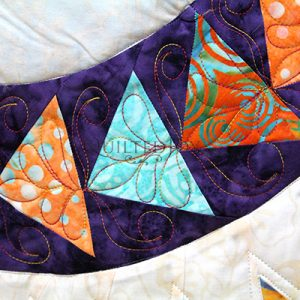 Essential Skills: Beginning Custom Quilting on the Longarm, machine quilting class taught by Angela Huffman