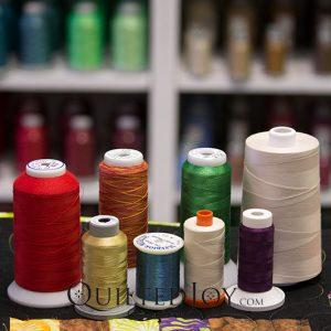 choose quilt thread